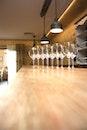 bar, wine glasses, stemware