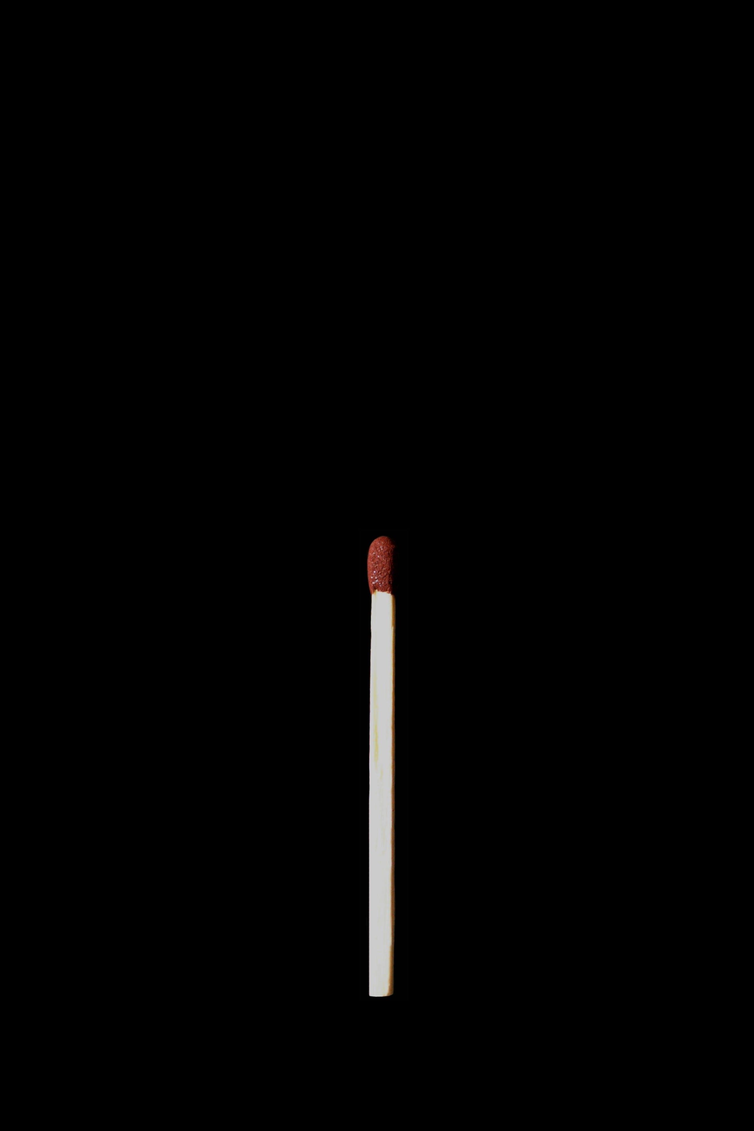 Fotos de stock gratuitas de cerilla, fondo negro, oscuro, palo