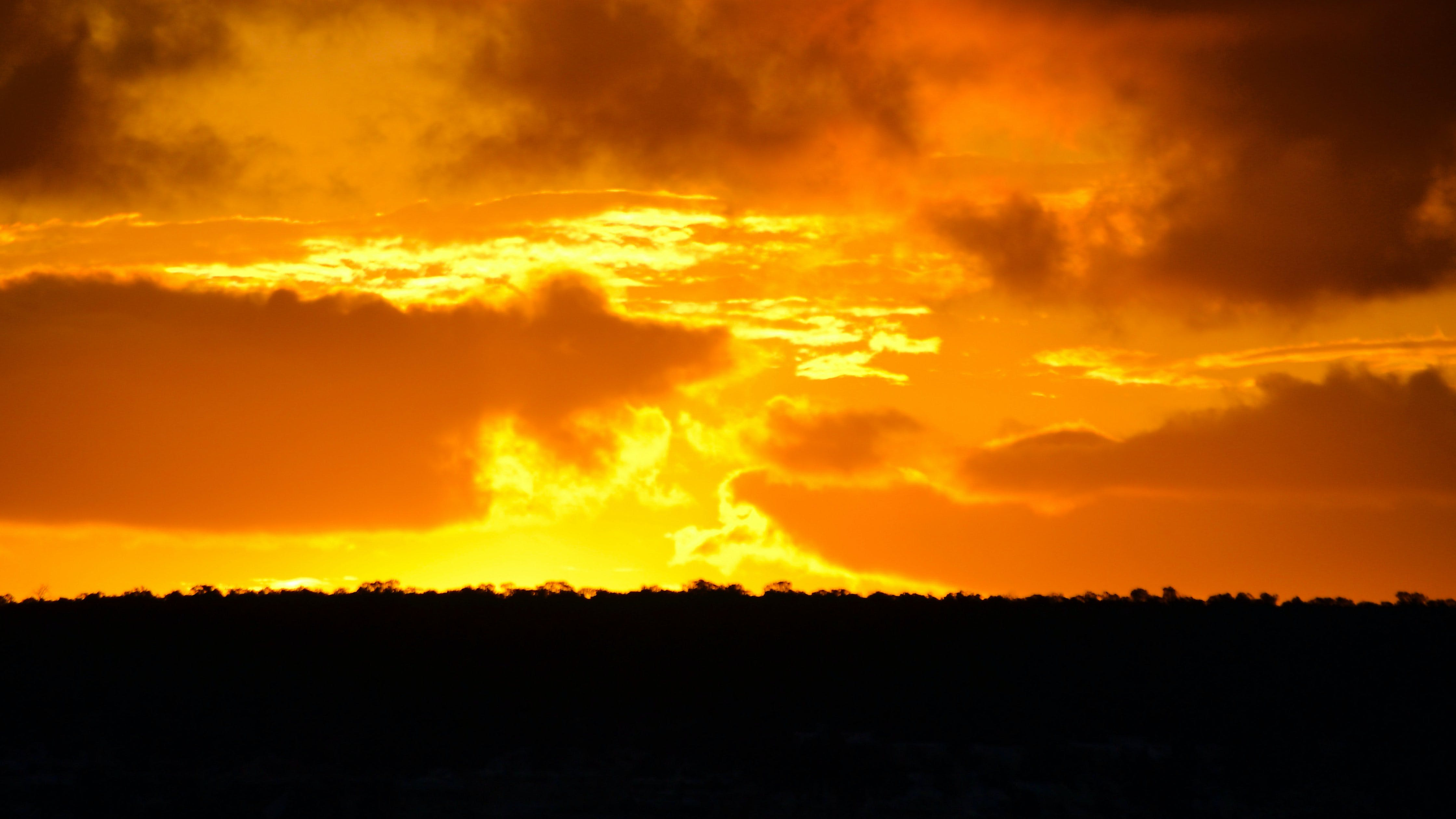 về ánh sáng, arizona, bão táp, bầu trời