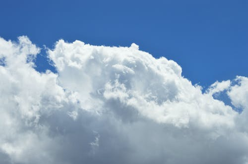 Бесплатное стоковое фото с атмосфера, белый, голубой, день
