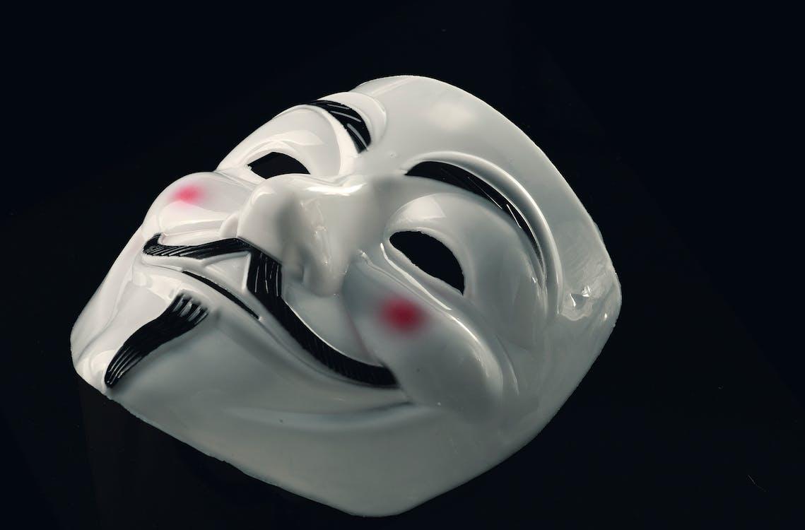 Anonym, design, fawkes maske