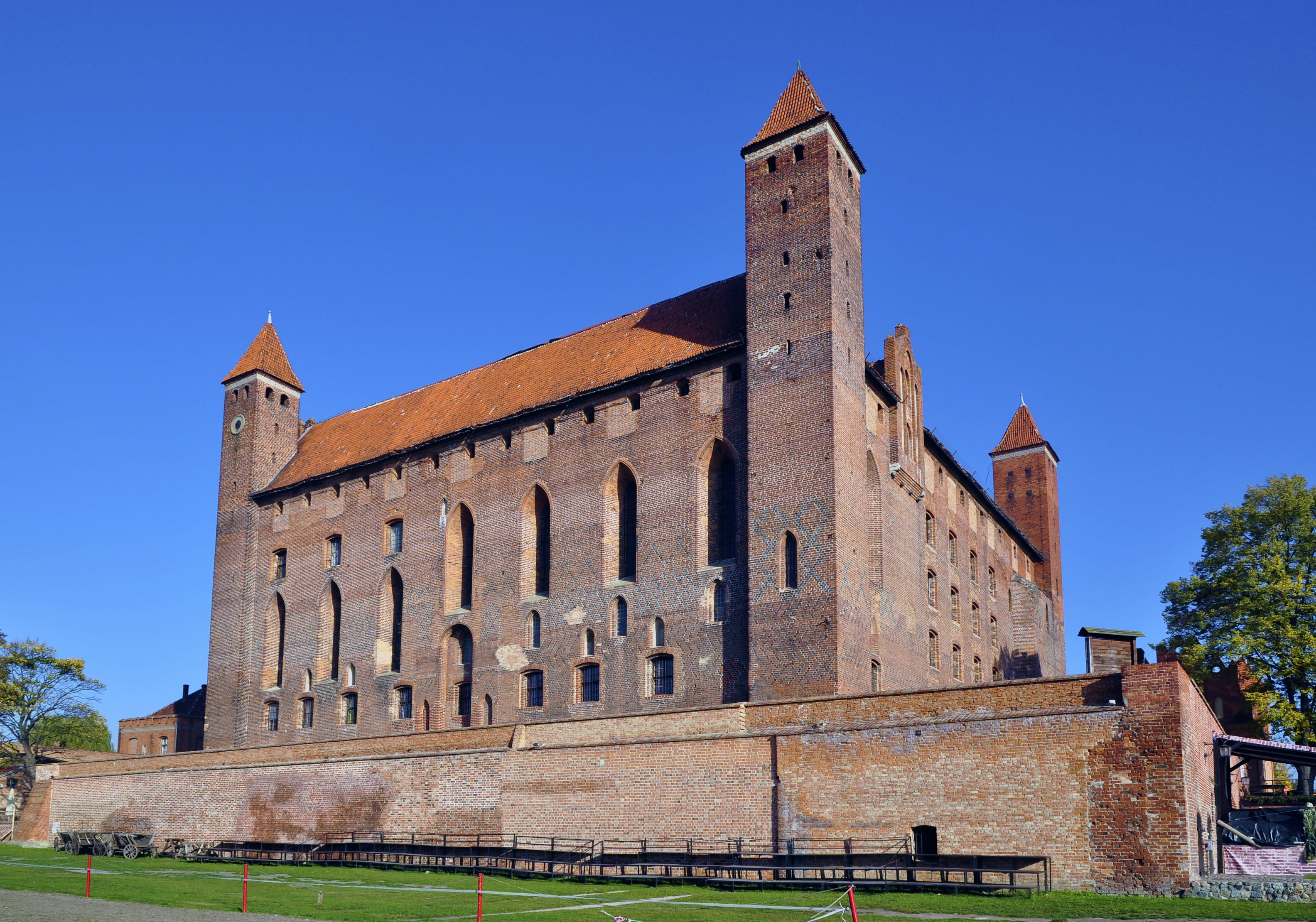 Free stock photo of castle, Crusaders, Gniew, poland