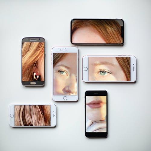 açık, akıllı telefon, aygıt içeren Ücretsiz stok fotoğraf