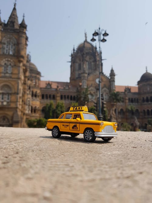 Free stock photo of car, colors in india, miniature