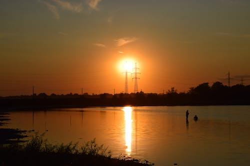 Free stock photo of beautiful, romantic, summer, sunset