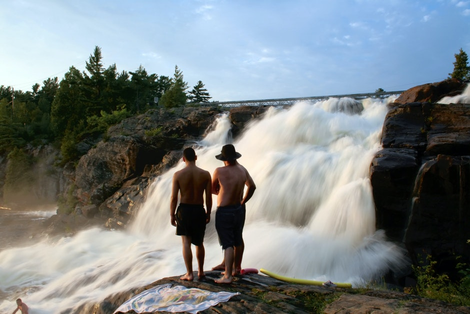 men, nature, people