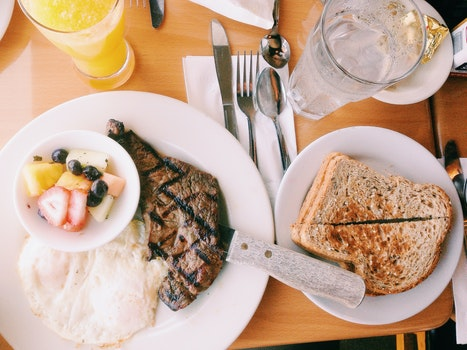 Free stock photo of food, toast, restaurant, dinner