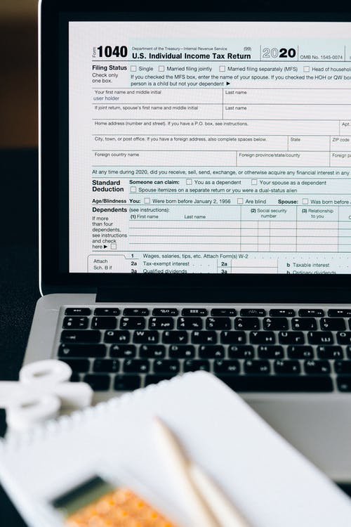 Filing Tax Return Online