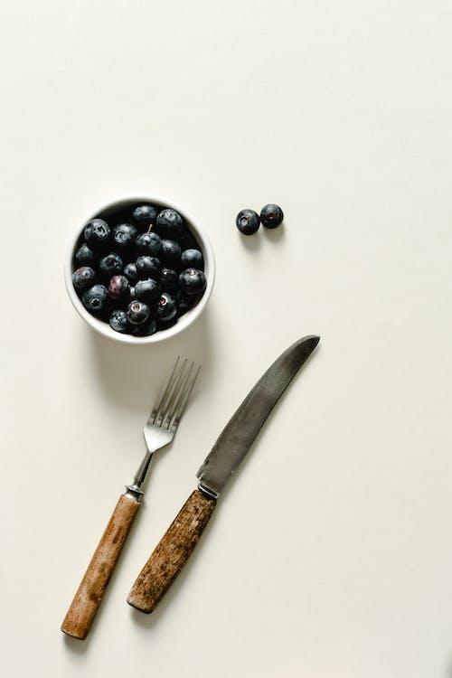 Základová fotografie zdarma na téma borůvky, čerstvý, mísa