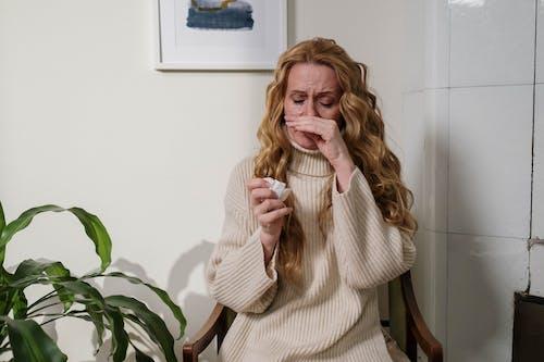 Ingyenes stockfotó allergia, allergiás, arc témában