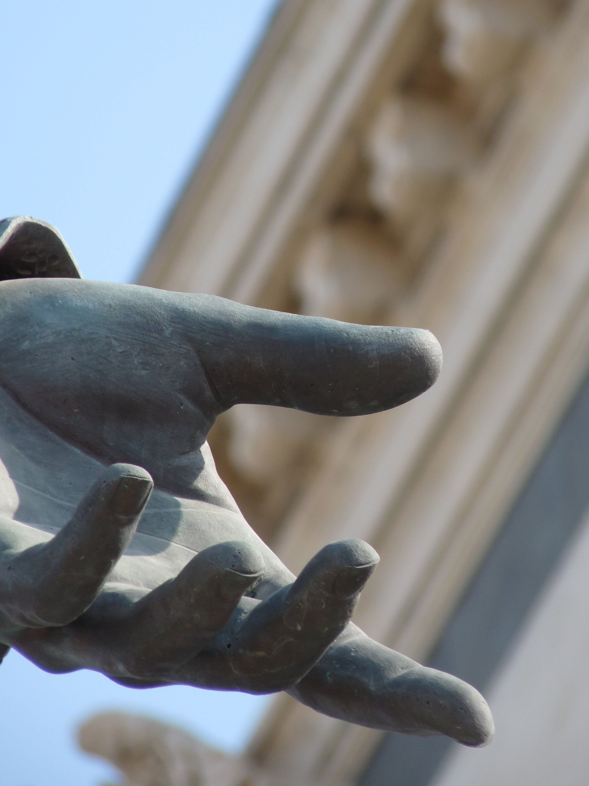 Free stock photo of bronze, royalty free, marseille, statue hand