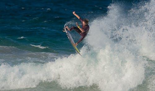Free stock photo of board, ocean, sport