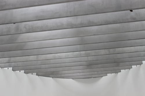 Foto stok gratis abu, Arsitektur, hitam & putih, langit-langit