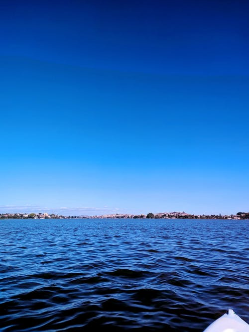 Free stock photo of blue, blue sky, blue water