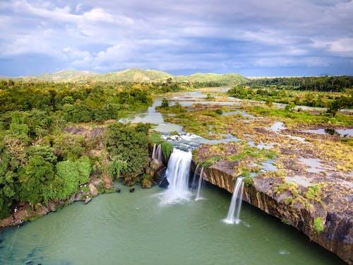 Бесплатное стоковое фото с Водопад Дрейн Нур, водопады, вьетнам