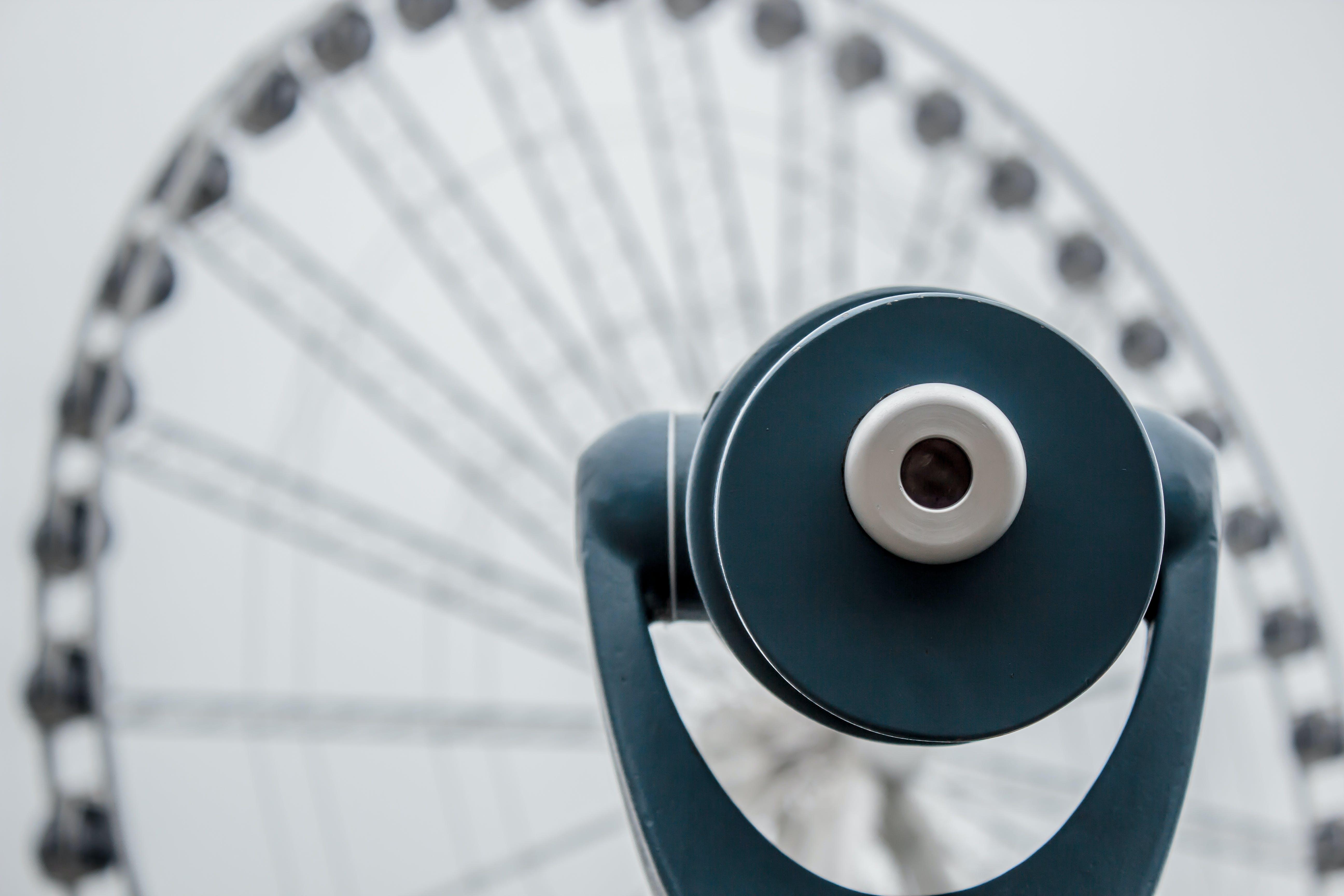 binoculars, circle, ferris wheel