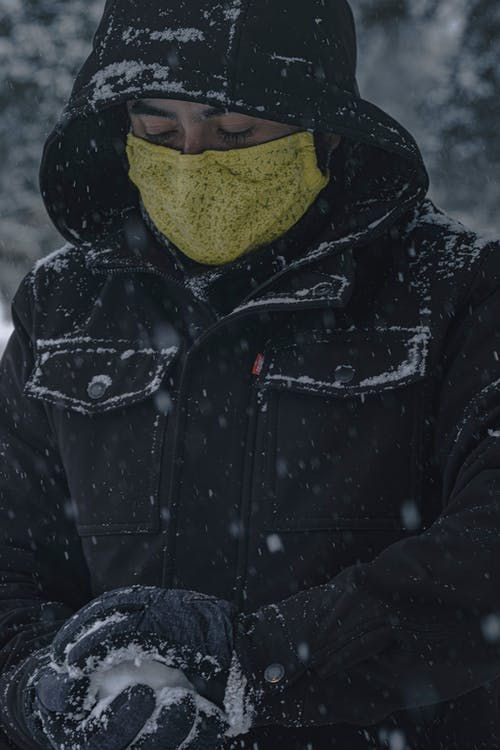 Free stock photo of cold, covid, guy