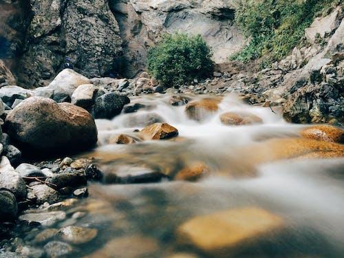 Kostnadsfri bild av landskap, lång exponering, natur, stenar