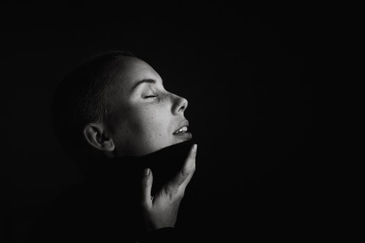 Monochrome Photography of A Person