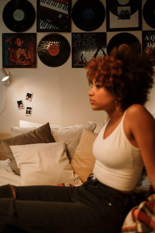 Δωρεάν στοκ φωτογραφιών με afro μαλλιά, άλμπουμ, απεικόνιση