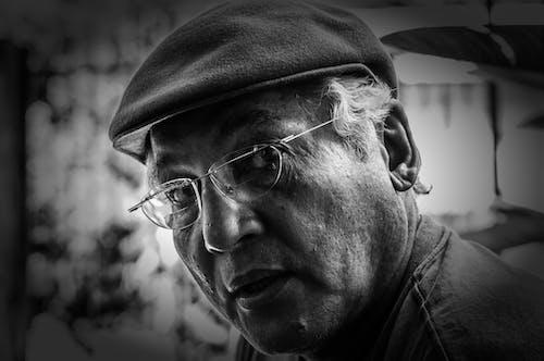 Fotos de stock gratuitas de anciano, blanco y negro, hombre, mayor