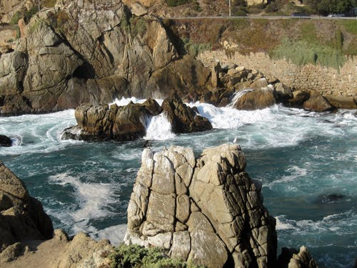 Free stock photo of chile, cliff coast, southamerica