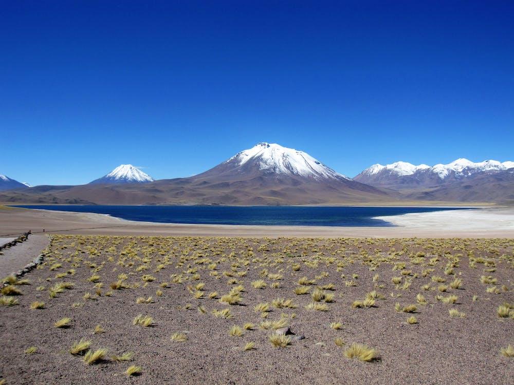Free stock photo of chile, mountain lake, mountains