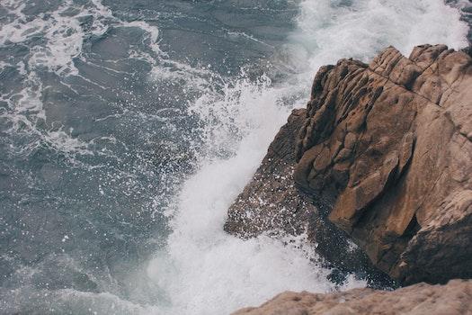 Free stock photo of sea, ocean, waves, coast