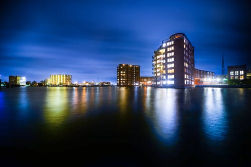 Buildings Beside Body Of Water