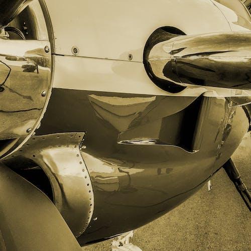 Free stock photo of airplane, aviation, engine