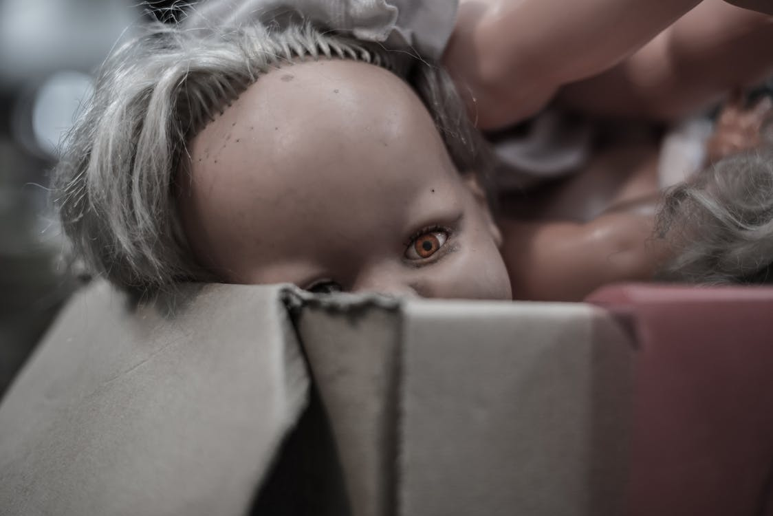 Porcelain Doll in Box