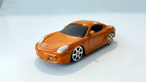 Free stock photo of orange, sports car, toy