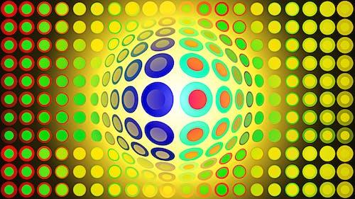 Free stock photo of digital art, illustration, op art