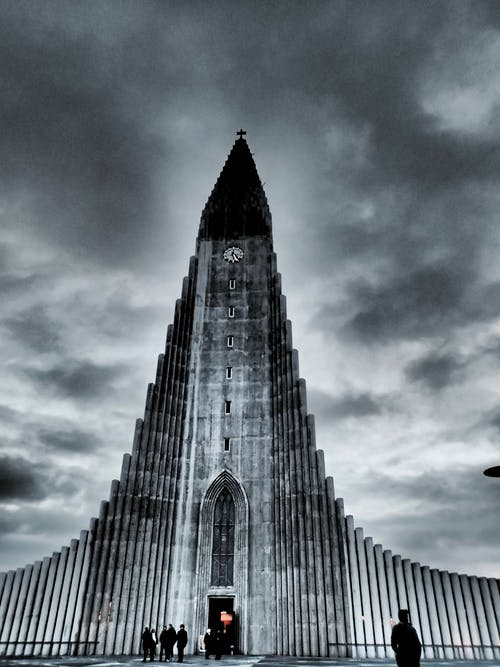 Free stock photo of Hallgrímskirkja, iceland