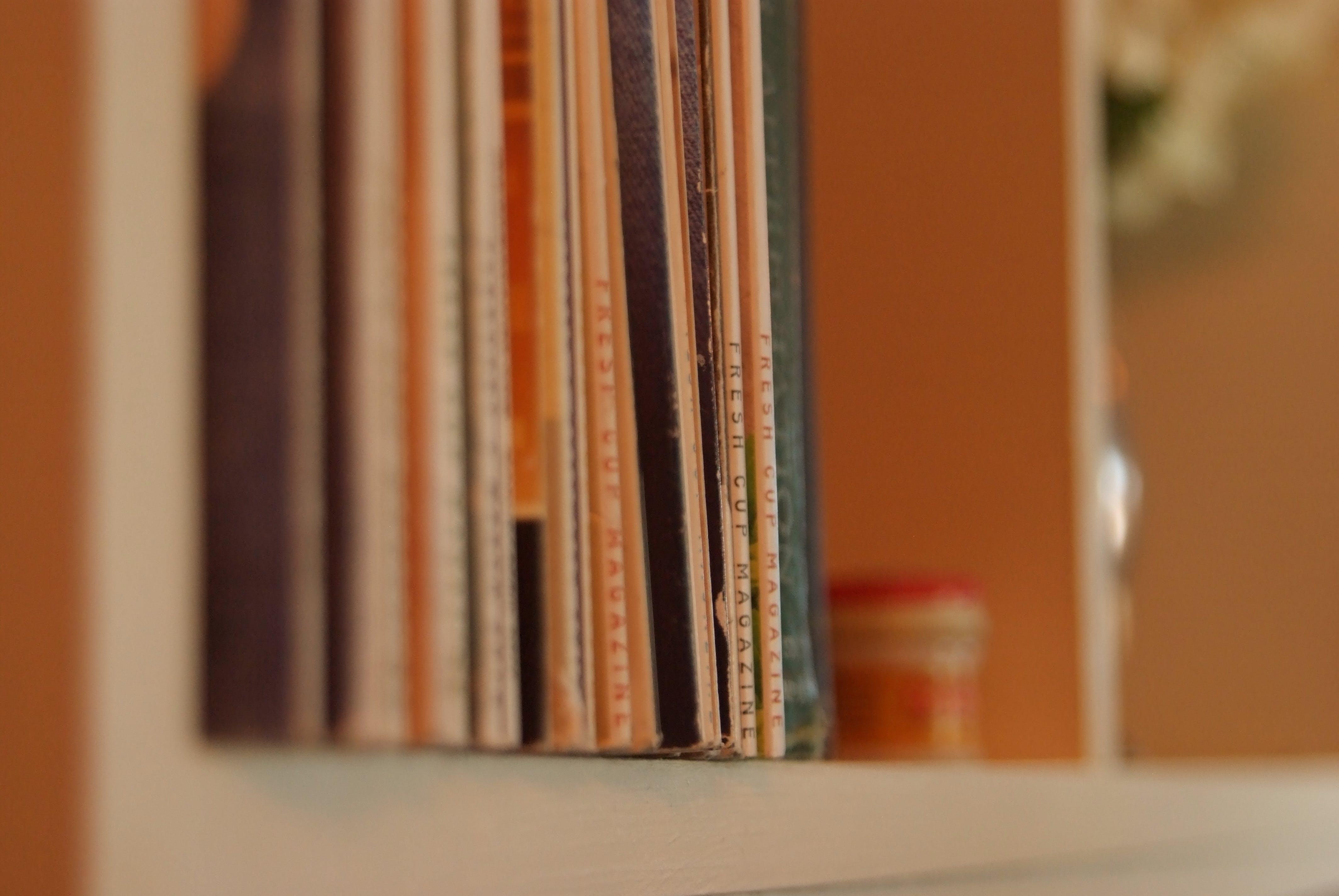 books, coffee house, coffee shop