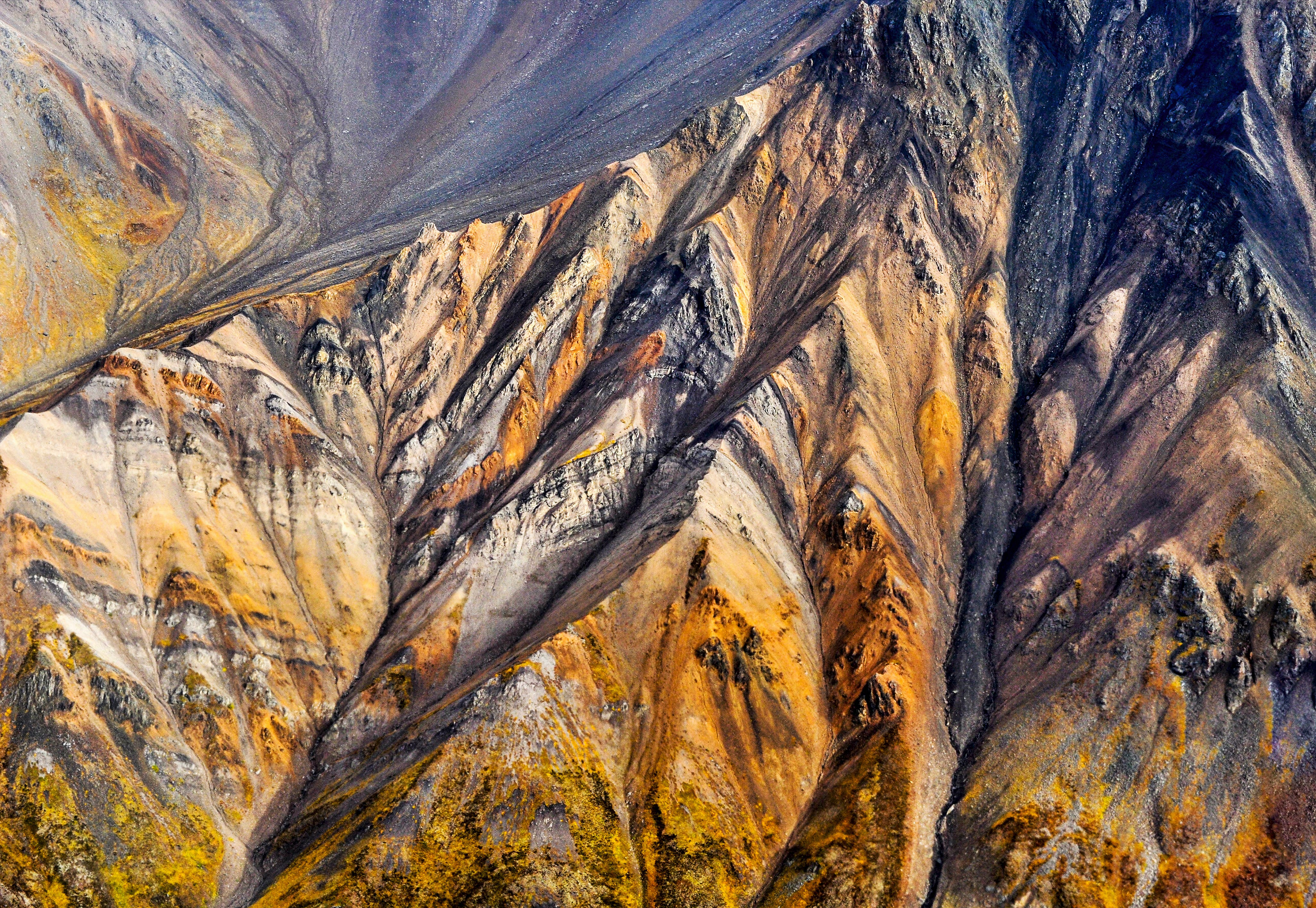 Aerial Photography of Brown Mountain