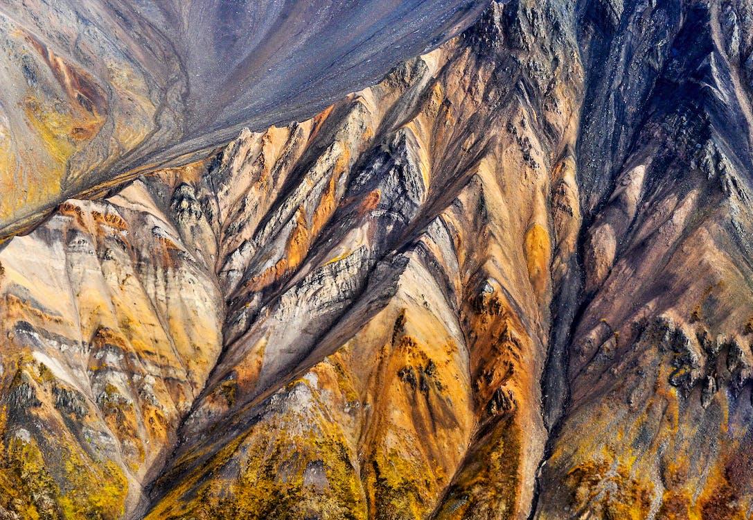 геология, гора, дневной свет