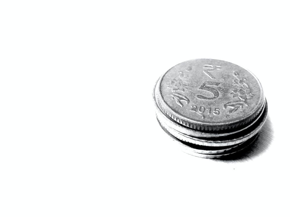 Indien, indisk, mønter