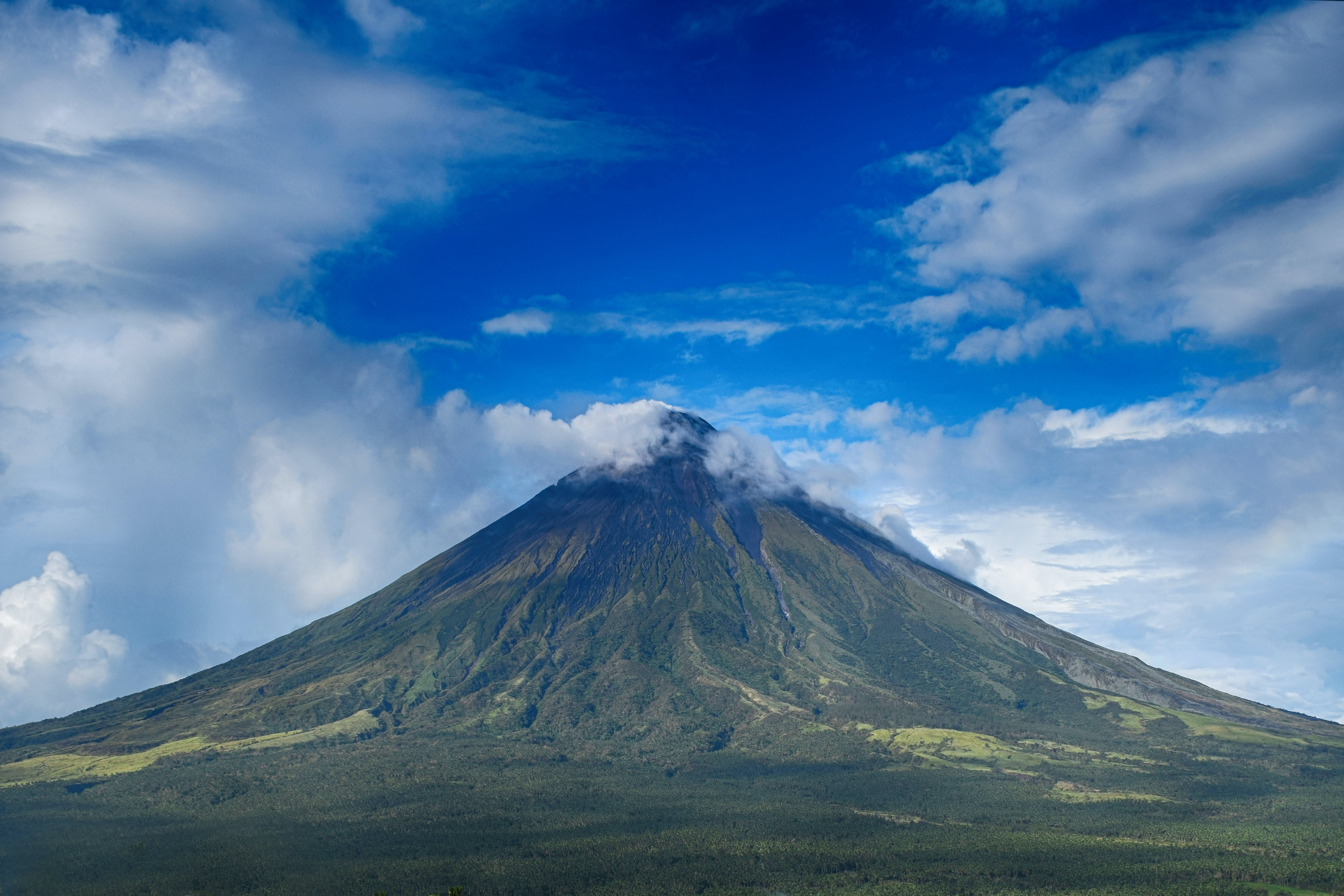 Free stock photo of blue sky, cloud, clouds, Mayon