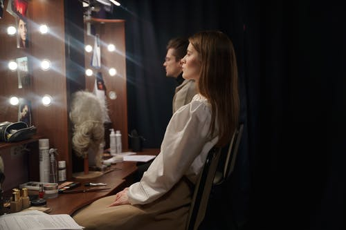 Foto stok gratis aktor, aktris, berlatih