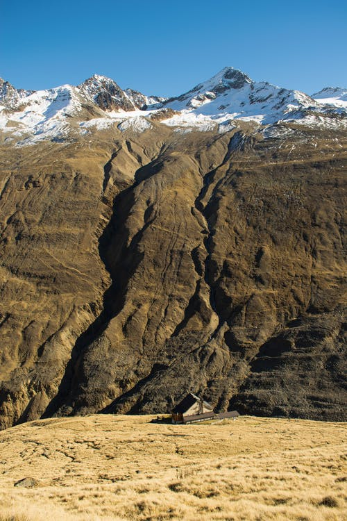 Kostenloses Stock Foto zu alpen, hütte, landschaft