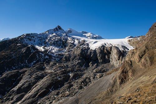冰河, 岩石, 阿爾卑斯山 的 免費圖庫相片