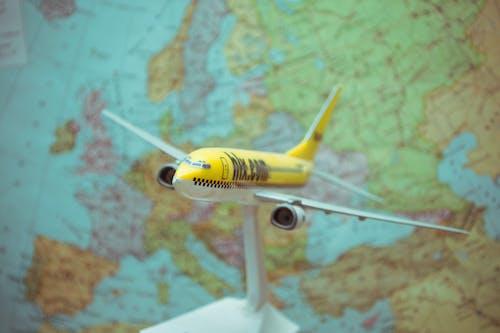 Free stock photo of airplane, europe, european union