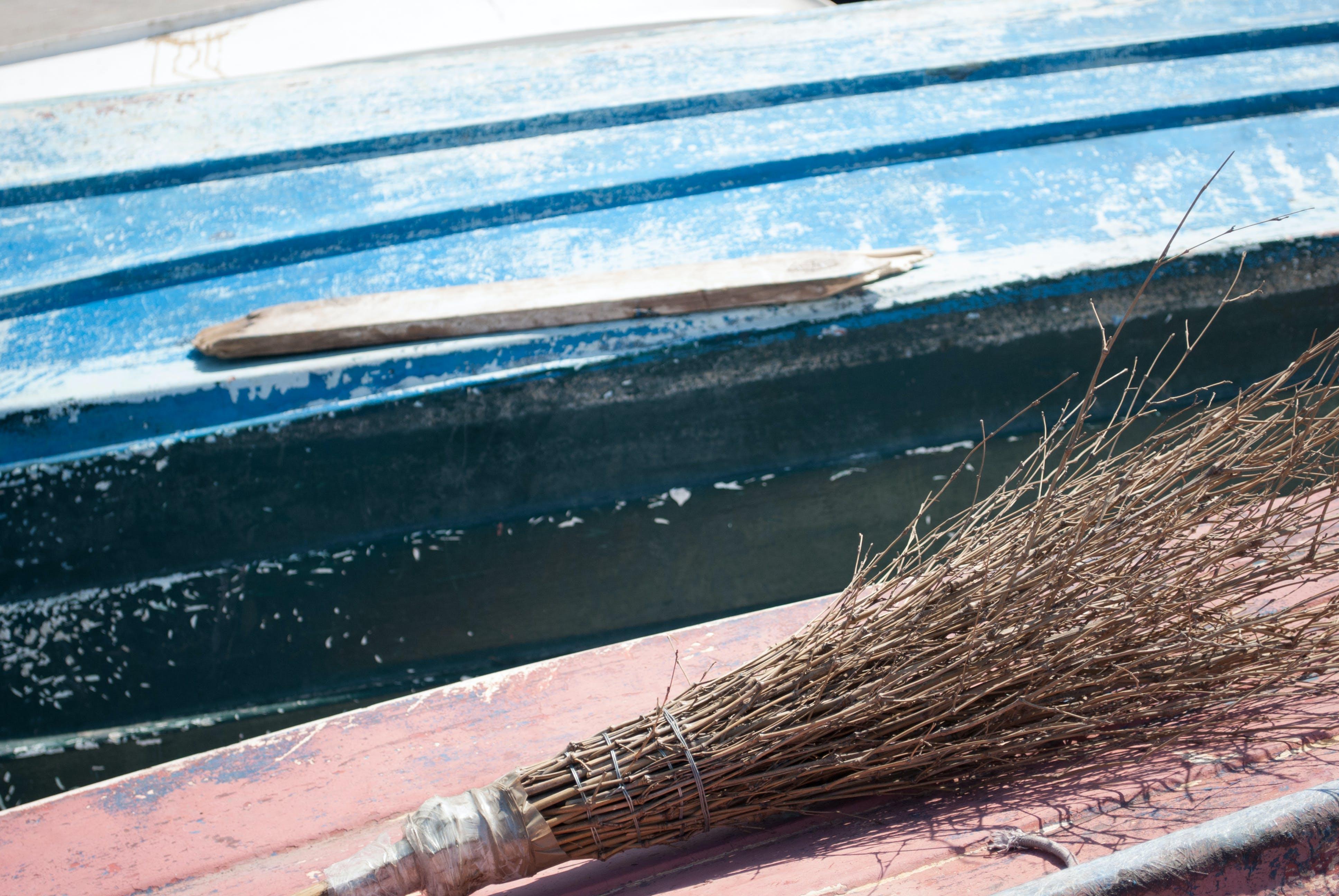 Free stock photo of boat, broom, fisherman, mediterranean