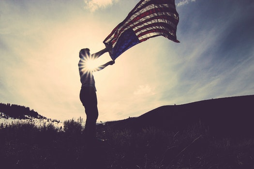 Free stock photo of man, person, freedom, united states of america