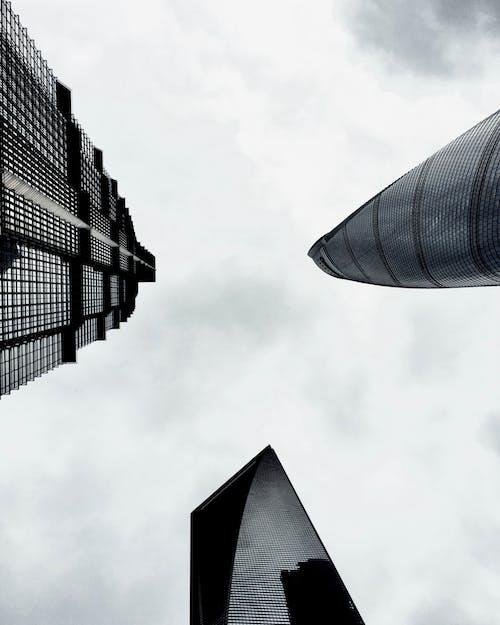 건물, 건축, 건축 설계, 고층 건물의 무료 스톡 사진