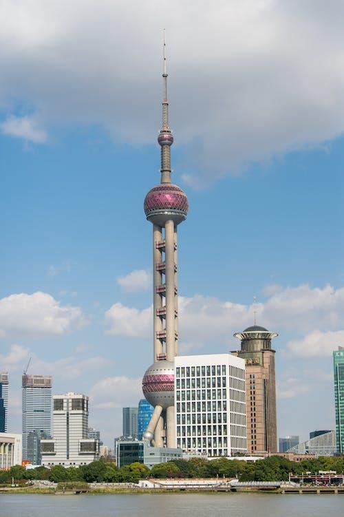 城市, 塔, 建築, 藍天 的 免费素材照片