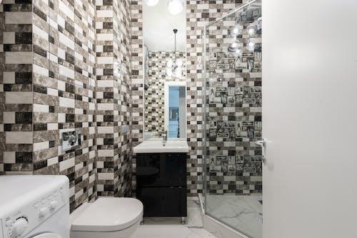 Kostenloses Stock Foto zu badezimmer, boden, dekor