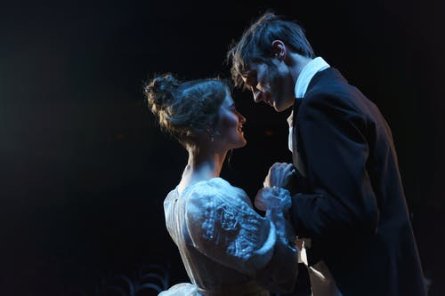 Romantic Man And Woman