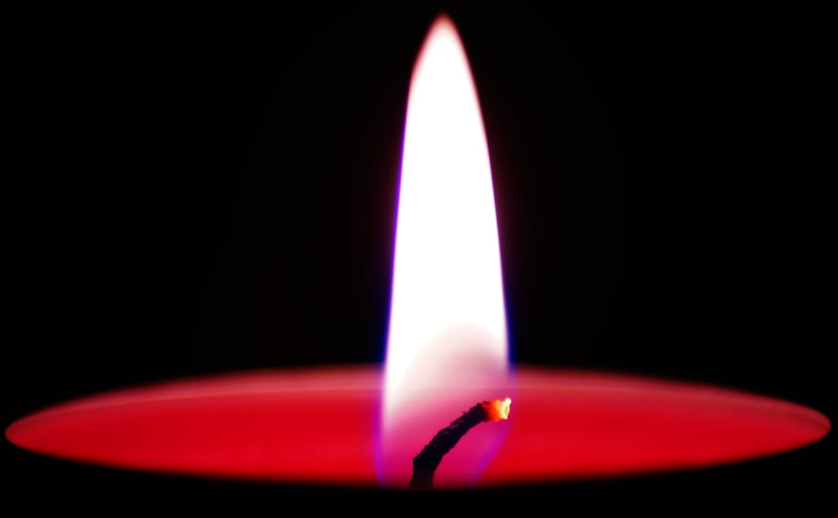 Flame in Candle